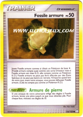 Playfactory fossile armure pv 50 116 124 carte - Fossile pokemon diamant ...