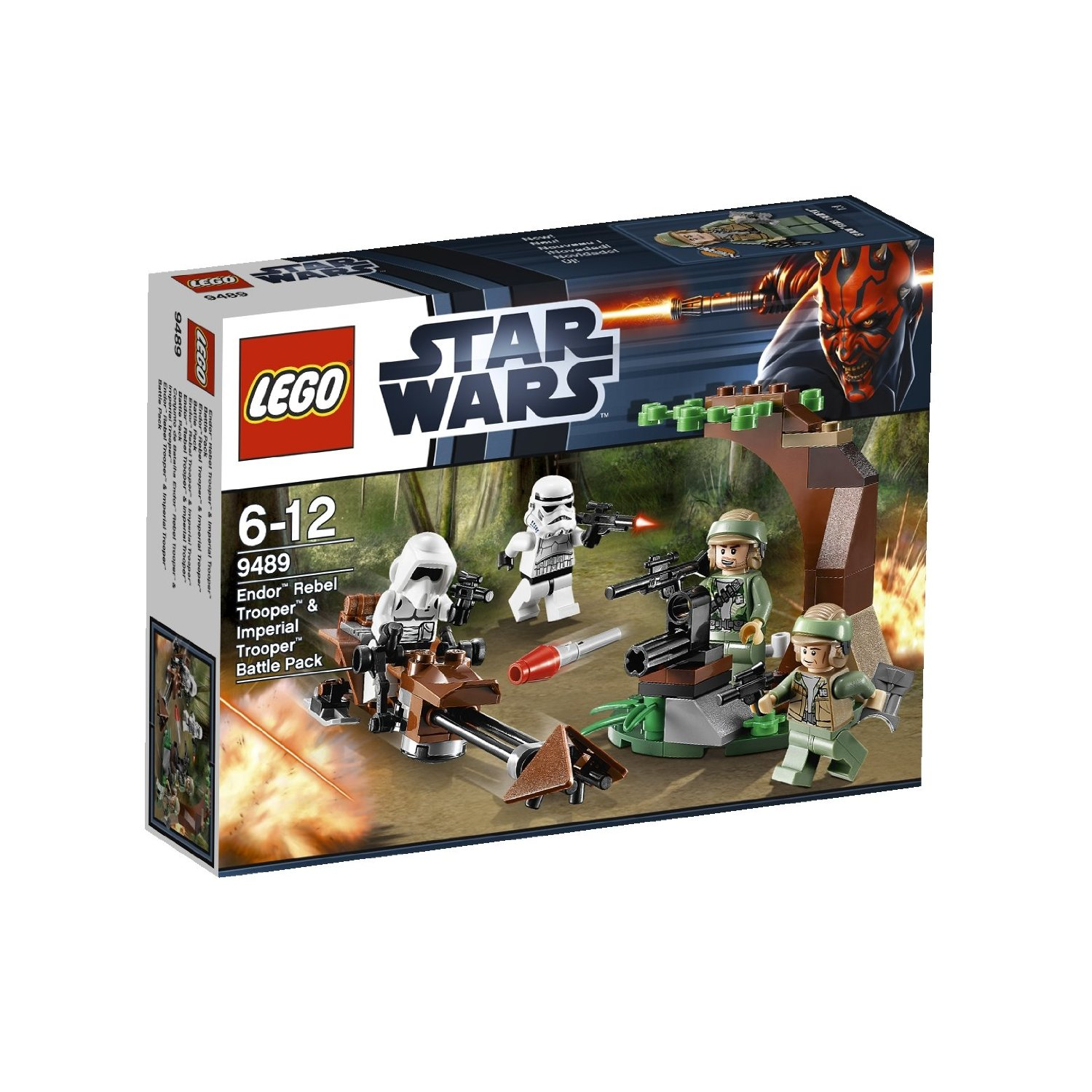 7040 jeux de construction lego lego star wars 9489 endor rebel