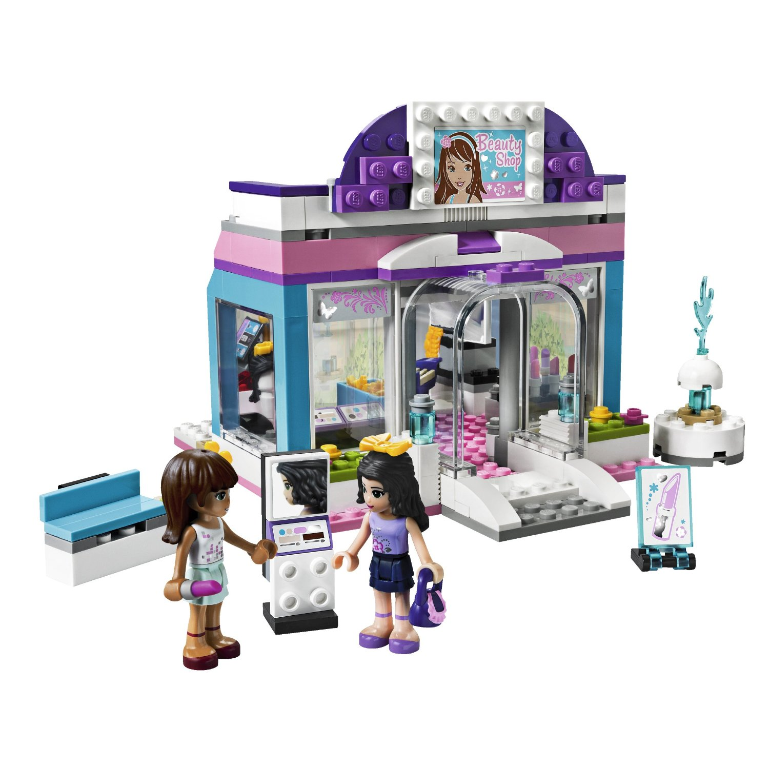 Lego friends le salon de beaut for Lego friends salon de coiffure