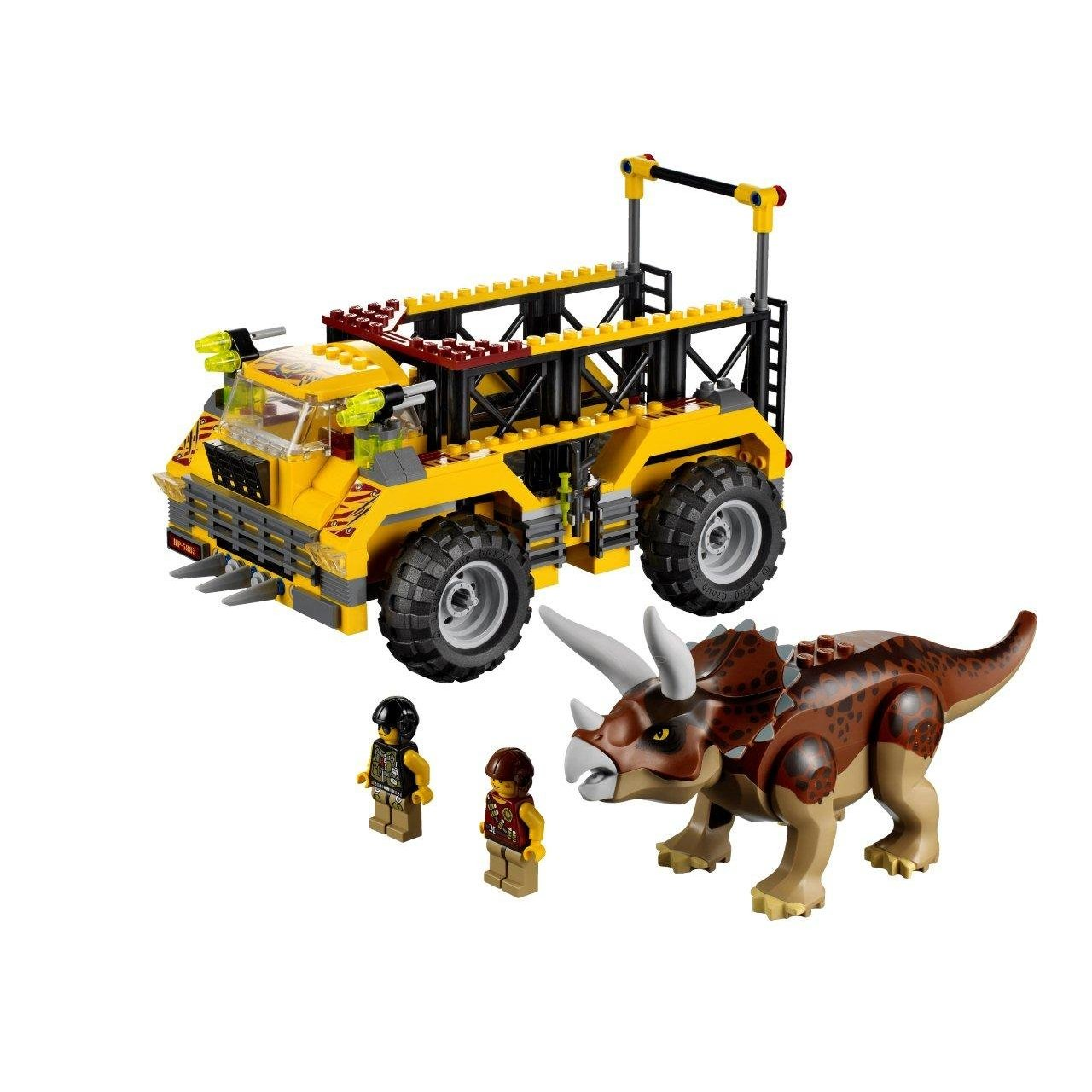 Playfactory dino le pi ge du tric ratops lego - Jeux lego dino ...