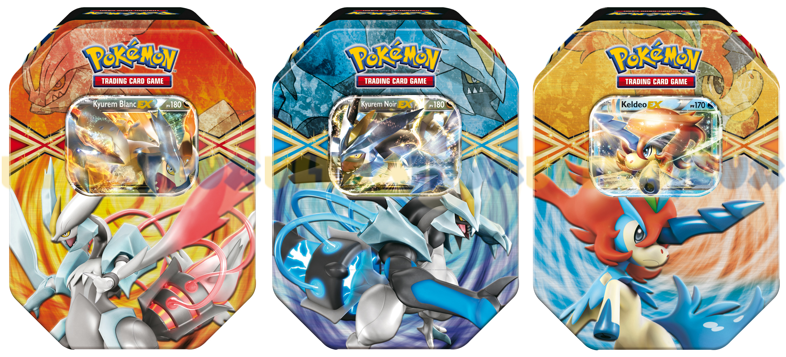 Playfactory pokebox lot de 3 kyurem blanc ex kyurem - Carte pokemon kyurem blanc ex ...