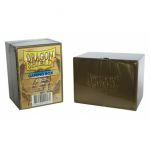 Boites de Rangement Accessoires Deck Box Dragon Shield Rigide Gold (or) - 100 Cartes