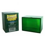 Deck Box  Gaming Box - Rigide Vert - 100 Cartes