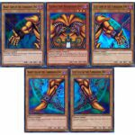 Cartes Spéciales Yu-Gi-Oh! Lot Exodia The Forbidden One ! Exodia L'interdit [YGLD-EN en Anglais]