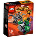 Super Heroes LEGO Mighty Micros - 76066 - Hulk Contre Ultron