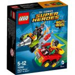 Super Heroes LEGO Mighty Micros - 76062 - Robin Contre Bane