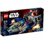 Star Wars LEGO 75150 - Le Tie Advanced De Dark Vador Contre L'a-wing Starfighter