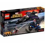 Super Heroes LEGO 76047 - Captain America Civil War : La Poursuite De La Panthère Noire