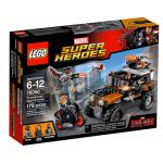 Super Heroes LEGO 76050 - Captain America Civil War : L'attaque Toxique De Crossbones