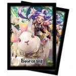 Protèges Cartes Force of Will Sleeves Standard Par 65 Kaguya, Princesse Lapin Du Halo Lunaire
