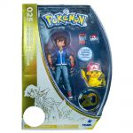 Figurine Pokémon Figurines D'action Sacha + Pikachu Exclusif 20 Ans