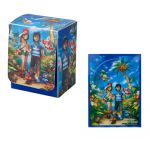 Boites de Rangement Pokémon Deck Box Pokemon Center - Deck Box & Card Sleeves Welcome To Alola