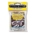 Protèges Cartes Format JAP Accessoires Sleeves Dragon Shield Mini Par 50 Transparent (Lisse)