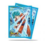 Protèges Cartes Dragon Ball Super Goku Blue (65ct)