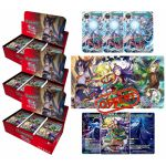 Boosters Français Force of Will R4 - Les Vents de la Lune Funeste - Lot De 3 Boites De 36 Boosters + Le Tapis + Les Carte Promo