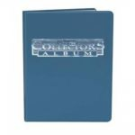 Portfolios  Portfolio A4 - 10 Pages De 9 Cases - Bleu
