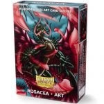 Protèges Cartes Format JAP Yu-Gi-Oh! Sleeves Dragon Shield Mini Rosacea Art par 60