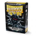 Protèges Cartes Format JAP Yu-Gi-Oh! Sleeves Dragon Shield Mini Noir - Black Classic - par 60