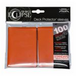 Protèges Cartes Accessoires Sleeves Ultra-pro Standard Par 100 Eclipse Orange Matte