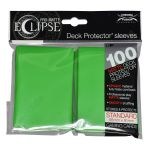 Protèges Cartes Standard  Sleeves Ultra-pro Standard Par 100 Eclipse Vert Clair Matte