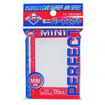 Protèges Cartes Standard  Kmc - Mini Sleeves - Perfect Size (100 Sleeves) - Pro-Fit