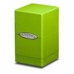 Deck Box  Satin Tower Deck Box Lime Green