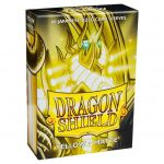 Protèges Cartes Format JAP Yu-Gi-Oh! Sleeves Dragon Shield Mini Yellow Matte - par 60