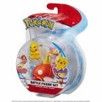 Figurine Pokémon 3 Battle Figure Set - Magicarpe - Capumain - Pikachu