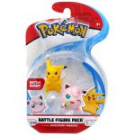 Figurine Pokémon 2 Battle Figure Pack - Rondoudou - Pikachu