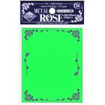 Protèges Cartes Standard  Kmc - Standard Sleeves - Metal Rose - Vert - par 50