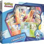 Coffret Pokémon Collection Galar - Zamazenta V - Larméléon
