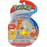 Figurine Pokémon 2 Battle Figure Pack - Salamèche & Pikachu