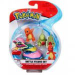 Figurine Pokémon 3 Battle Figure Set - Grotadmorv d'Alola, Salamèche & Embrylex