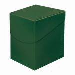 Deck Box  Deck Box Ultrapro Eclipse 100+ (grande Taille) - Vert forêt (Forest Green)