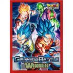 Protèges Cartes Standard Dragon Ball Super Galactic Battle Winner (Sleeves par 60ct)
