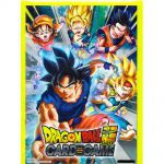 Protèges Cartes Standard Dragon Ball Super Famille de Son Goku (Sleeves par 60ct)