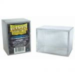 Deck Box  Dragon Shield Gaming Strong Box - Rigide Transparent - 100 Cartes