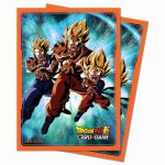 Protèges Cartes Standard Dragon Ball Super Kamehameha Familial (Sleeves par 65ct)