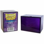 Deck Box  Dragon Shield Gaming Box - Rigide Violet - 100 Cartes