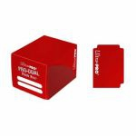 Deck Box  Pro-dual Small Deck Box - Rouge (120 cartes)