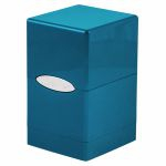 Deck Box  Satin Tower Deck Box Ice Blue