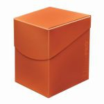 Deck Box  Deck Box Ultrapro Eclipse 100+ (grande Taille) - Orange Citrouille (Pumpkin Orange)