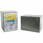 Deck Box  Dragon Shield Gaming Strong Box - Rigide Argent - 100 Cartes