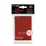 Protèges Cartes Format JAP  Sleeves Ultra-pro Mini Par 60 Rouge