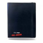 Portfolios  Pro-binder - Noir - 160 Cases (20 Pages De 8 Cases)