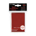 Protèges Cartes Standard  Sleeves Ultra-pro Standard Par 50 Rouge