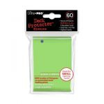 Protèges Cartes Format JAP  Sleeves Ultra-pro Mini Par 60 Vert Clair