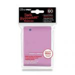 Protèges Cartes Format JAP  Sleeves Ultra-pro Mini Par 60 Rose