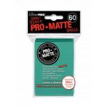 Protèges Cartes Format JAP  Sleeves Ultra-pro Mini Par 60 Vert Aquatique Matte