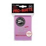Protèges Cartes Standard  Sleeves Ultra-pro Standard Par 50 Rose Matte